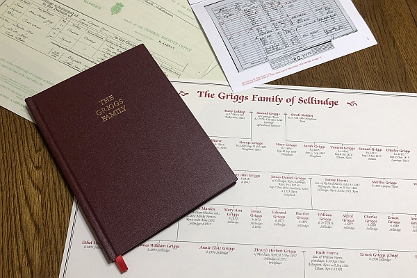 Example Family History Package